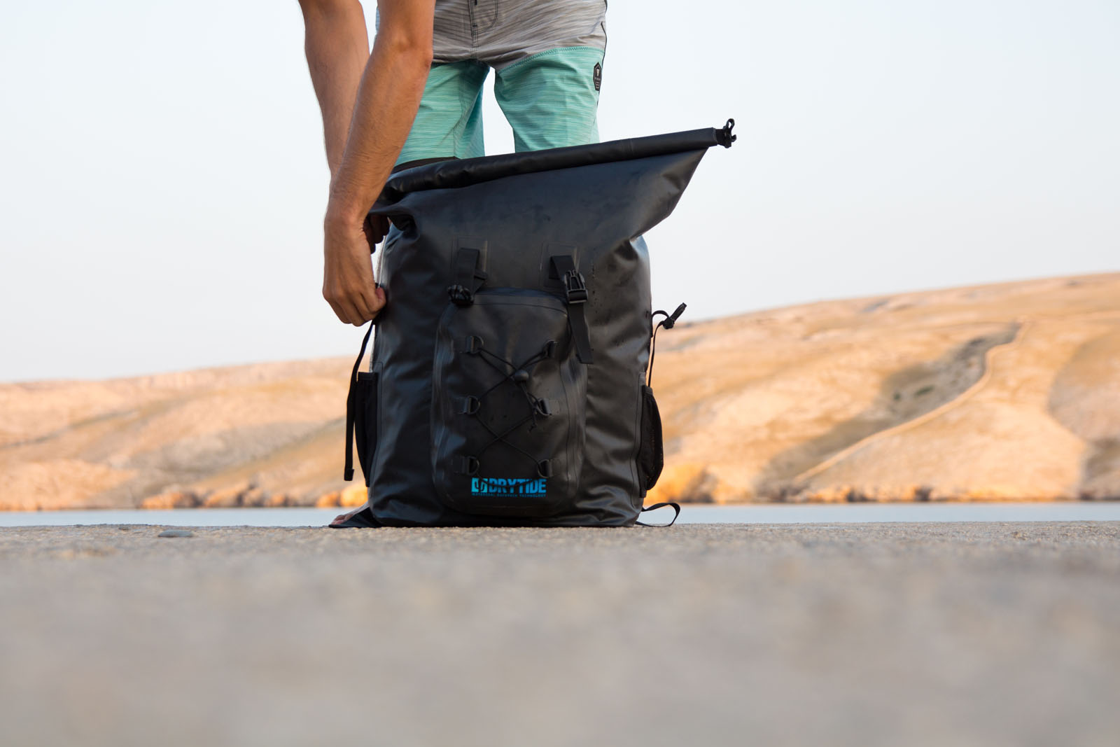 1c00b7eea977 Your best solution is a waterproof backpack. Waterproof backpacks are made  out of special material that is 100% waterproof. Usually fabrics